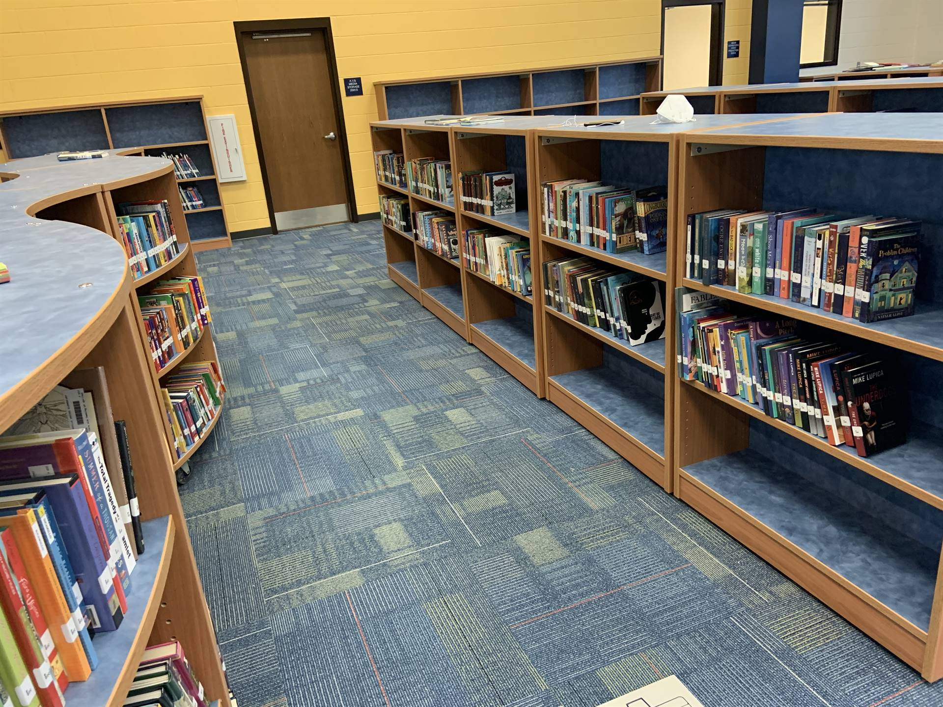 Media Center Shelves